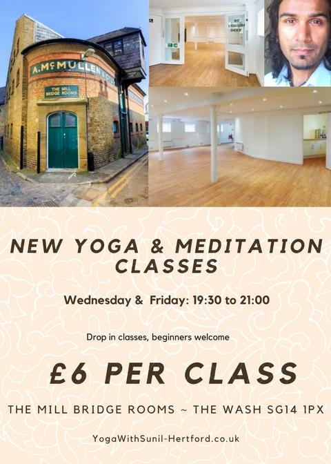 yoga class hertford wednesday friday